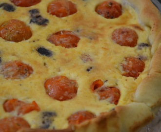 QUICHE À LA TOMATE DE JULIA CHILD