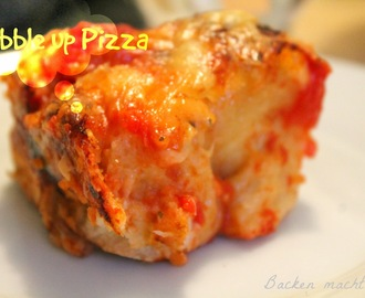 Bubble up Pizza - ein Blitzrezept