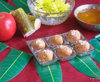 Semiya Laddu And Ugadi Greetings!!
