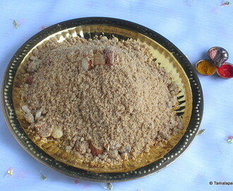 Godhuma Prasadam ~ Wheat Flour Offering