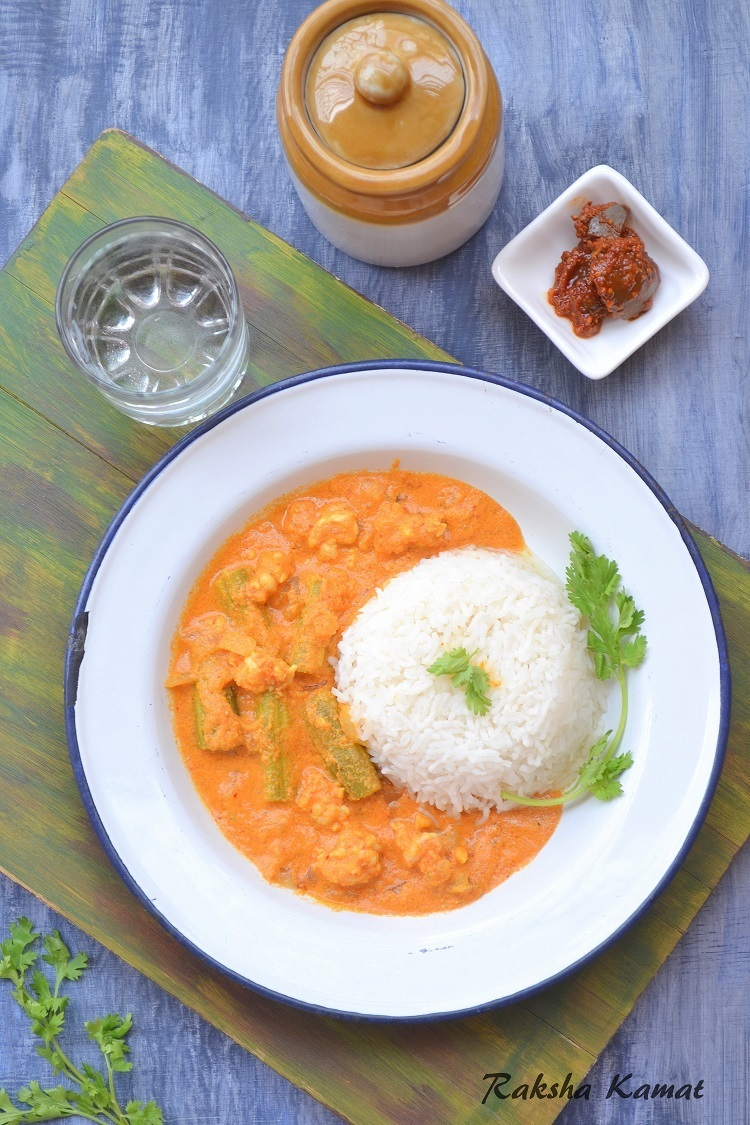 Goan Prawns Curry With Drumsticks