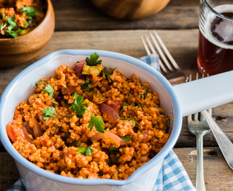 heinstirred wrote a new post, Bulgur Salad, on the site heinstirred
