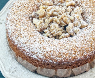 Torta al miele senza burro con farina integrale / No-butter honey cake with whole wheat flour
