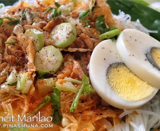 Pancit Marilao soon to be offered at Pancit Center