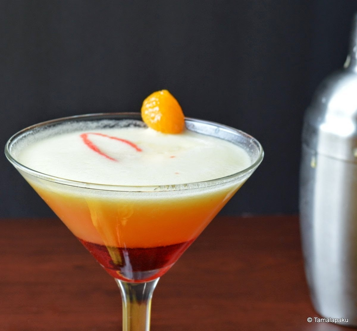 Pineapple-Orange Mocktail