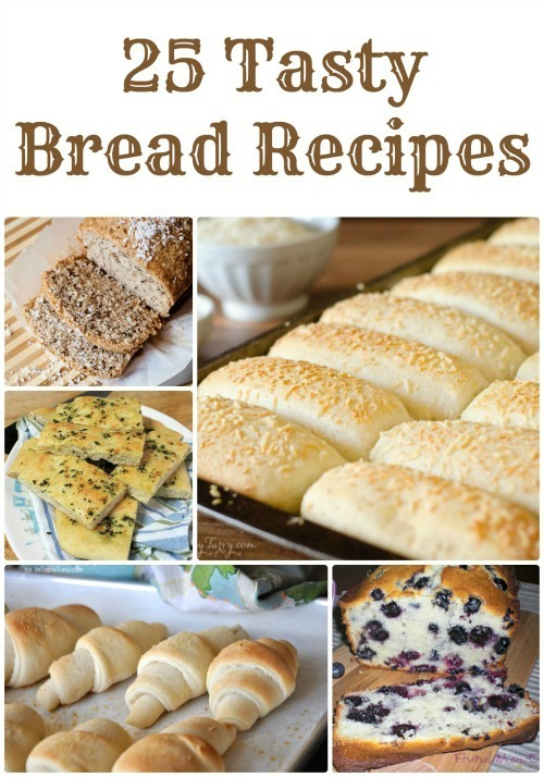 25 Easy Homemade Bread Recipes | Gluten Free, Sourdough, Breadsticks, Cinnamon & More!
