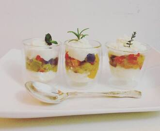 Peperonata finger food