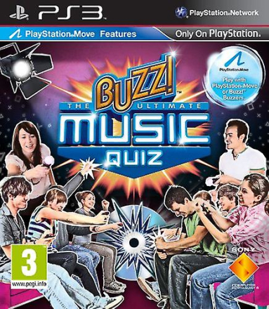 Buzz! Den ultimata Musikquiz (PS3)
