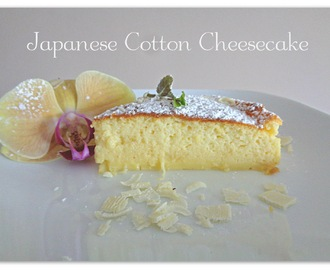 Japoński sernik - Japanese Cotton Cheesecake