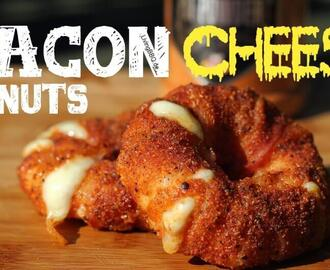 Bacon Cheese Donuts vom Grill