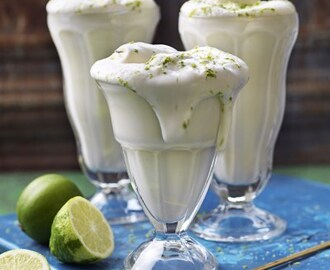 Key lime pie- milkshake