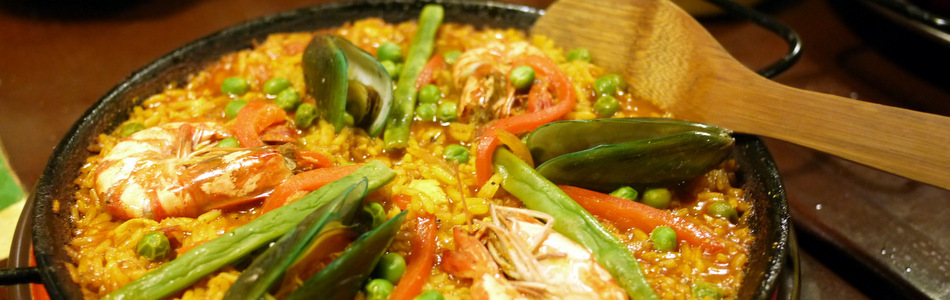 Paella at Calderon