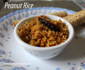 Peanut Rice Recipe -- How to make Peanut Rice