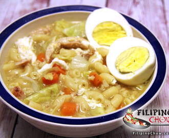 Chicken Sopas (Chicken Macaroni Soup)