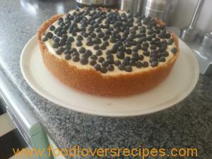 No bake cheesecake / Ongebakte Kaaskoek