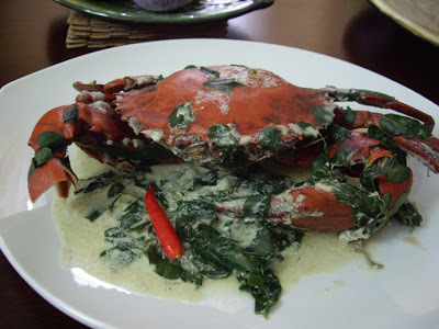 Ginataang Alimango (Crabs in Coconut Milk)