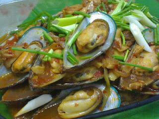 Spicy New Zealand Mussels