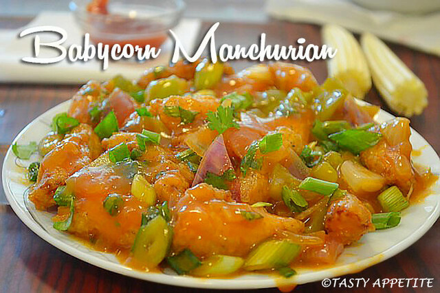 BABYCORN MANCHURIAN RECIPE / RESTAURANT STYLE MANCHURIAN RECIPE / EASY STARTER RECIPES