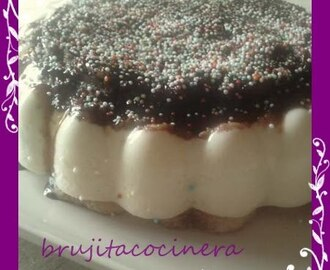 FLAN DE QUESO MASCARPONE Y CHOCOLATE BLANCO