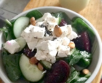 {Recipe} - Beetroot , Feta and Almond Salad ...