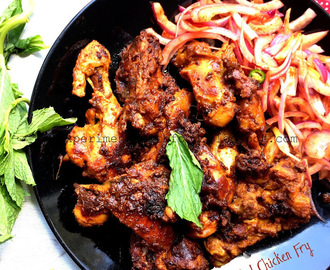 Roasted Spicy Chicken Fry
