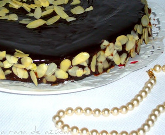 "Pastel de Chocolate y Almendra ""Reina de Saba"" Julia Child para Rocio.Reto chocolate Film & Food."