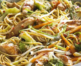 Chow Mein Noodles Recipe