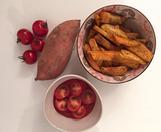 Crispy Søtpotet fries
