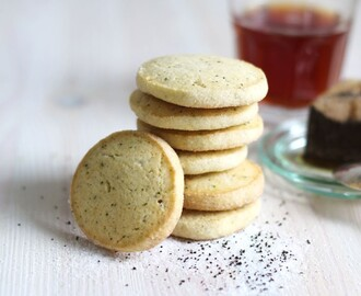 Earl Grey Cookies aka. Foggy London Cookies