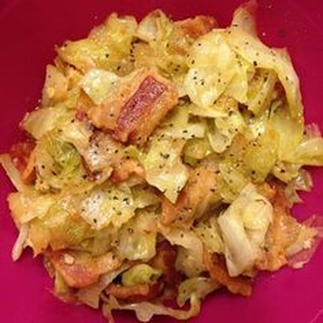 Fried Cabbage With Bacon,Onion, And Garlic Recipe- Diet Program