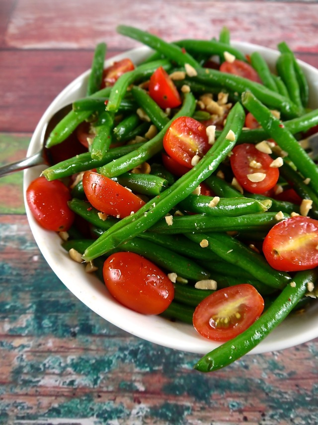 Paleo Asian Green Bean Salad