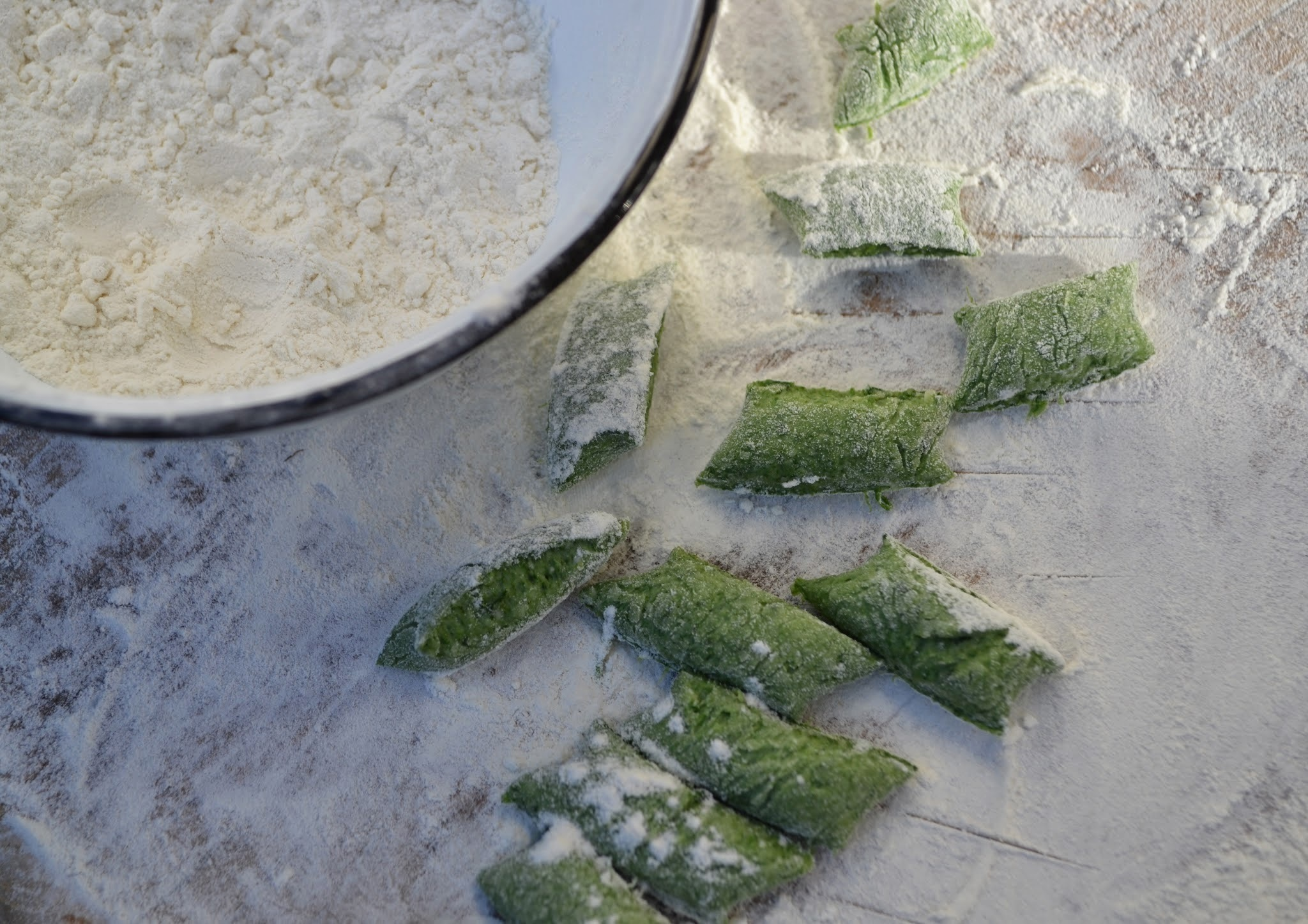 Savoury Wednesday: Ricotta-Spinat Gnocchi