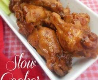 Fall off the Bone Slow Cooker Chicken Drummettes