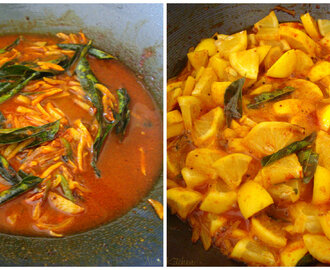 Lemon Curry ( Naranga Curry)