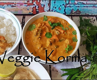 Instant Pot: Restaurant Style Vegetable Korma