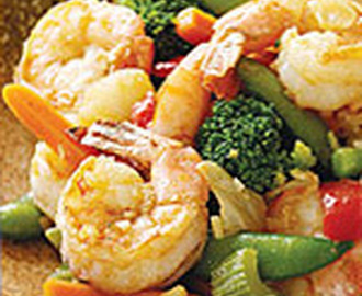Shrimp and Vegetables Stir Fry Recipe