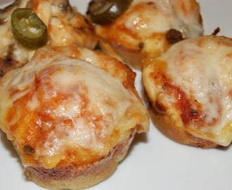 Easy Pizza Cupcakes