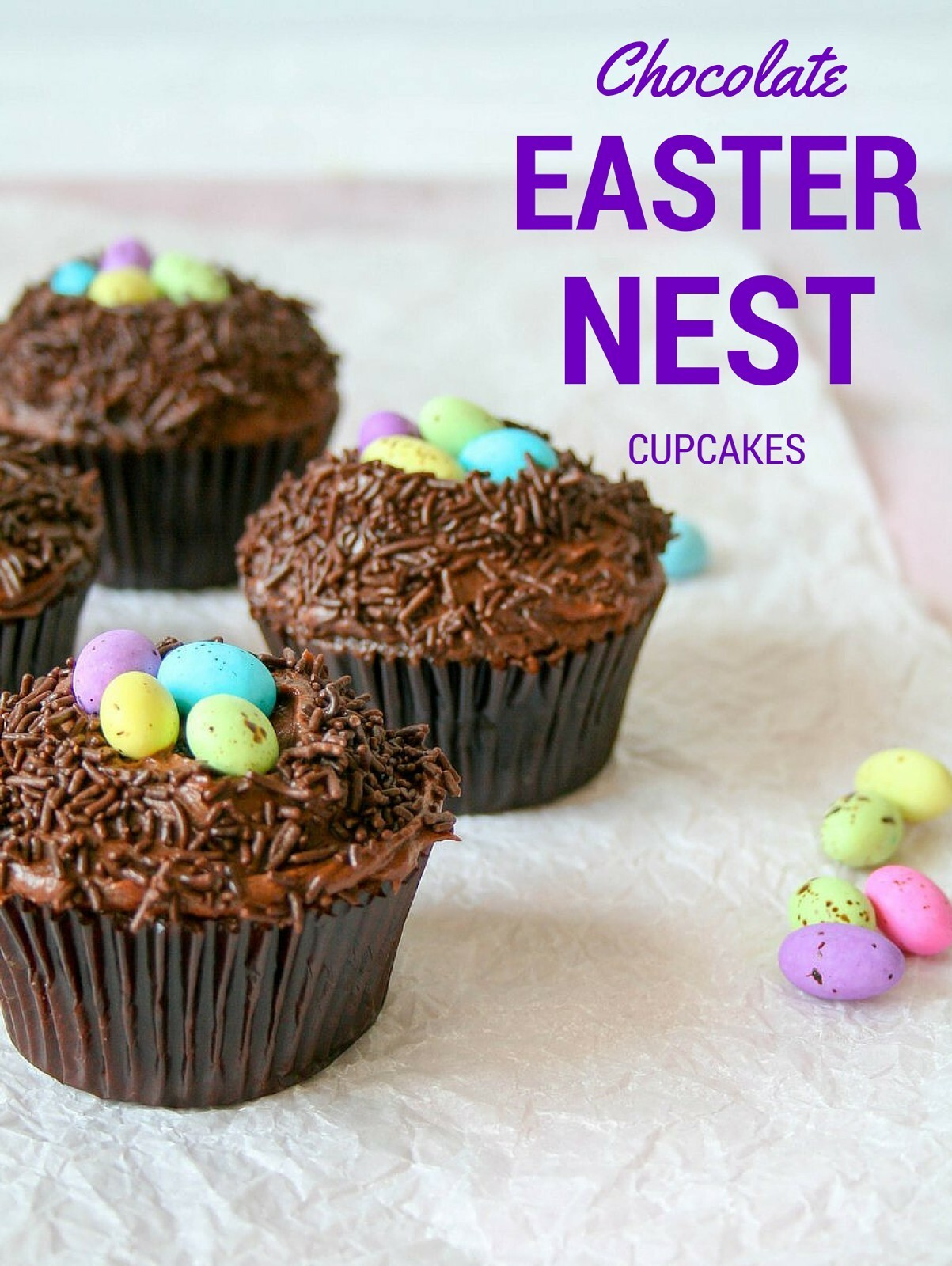 cupcakes-and-couscous wrote a new post, CHOCOLATE EASTER NEST CUPCAKES, on the site Cupcakes & Couscous