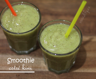 Smoothie No 10: ostré kiwi