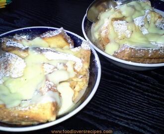 CUSTARD BREAD PUDDING