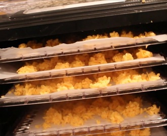 "dehydrating cheese and making powdered cheese  at ""A preppers life"""