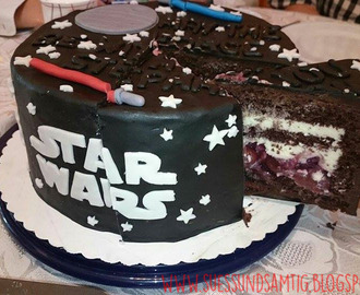 May the force be with you - Schwarzwälder Kirschtorte