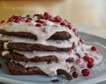 {Recipe} Healthy Breakfast–Chocolate & Lingoneberry Pancakes