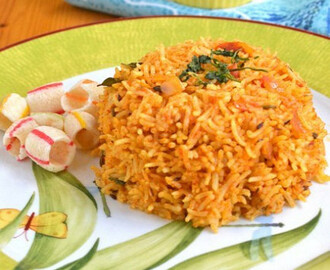 Tomato Rice | Thakkali Sadam Recipe