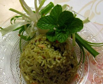Pudina [MINT] rice