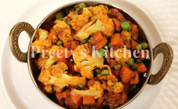 veg dry curry