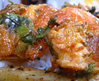 Tangy Herbalicious Prawns!!!