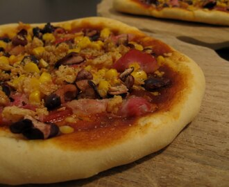American Pizza Western Style