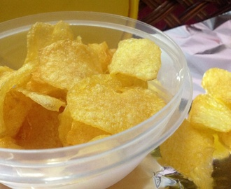Home made Potato Chips /Wafers
