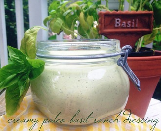 creamy paleo basil-ranch dressing